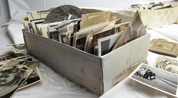 Old photo box